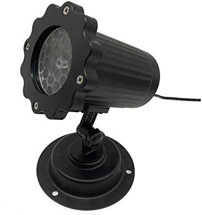 WWWNNUUUX Proyector de Nieve LED con proyector móvil con Reflector ...