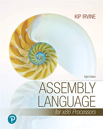 Pearson eText Assembly Language for x86 Processors -- Access Card (8th Edition)