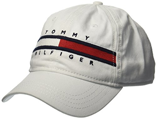 Avery Hat - Tommy Hilfiger Big Boys' Avery Hat, Classic White, 8-10