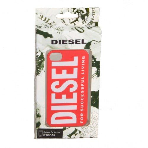 Diesel X00848 Snap Case Coque de protection pour iPhone 4/4S Rouge/Diesel