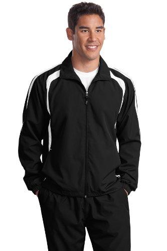 Jacket white tek Sport Jst60 Raglan Black nbsp;colorblock nbsp;– gSHFnWx