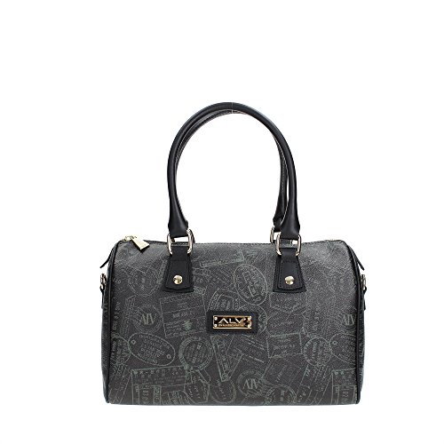 ALV by ALVIERO MARTINI AL.904.B.001.006 Bolso Boston Mujer Black