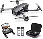 Holy Stone HS720 Foldable GPS Drone with 4K UHD Camera for Adults, Quadcopter with Brushless Motor, Auto Retur