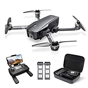 Flashandfocus.com 41iSvnBLglL._SS300_ Holy Stone HS720 Foldable GPS Drone with 4K UHD Camera for Adults, Quadcopter with Brushless Motor, Auto Return Home…