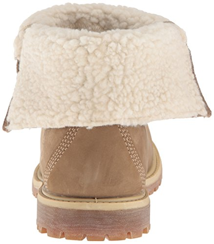Timberland Teddy–Chaqueta de forro polar impermeable plegable para Marrón (Taupe)
