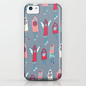Society6 - Cukoo Houses iPhone & iPod Case by Devon Johnson Illustration by icecream design