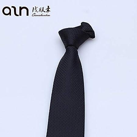 LBBJJ Corbata de Moda clásica Hombres Tie_Hombres Black Tie Export ...