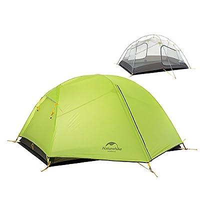 2personnes Outdoor Camping Tente double Tente de randonnée Couche Imperméable