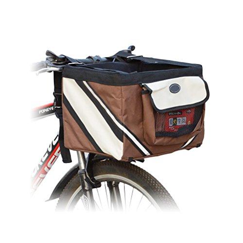 Premier Dog Cat Puppy Bike Bicycle Basket Front Seat Car ...