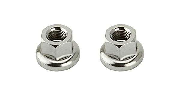 NEW BICYCLE Hub Axle Nut 3//8 x 24T Chrome LOWRIDER BEACH CRUISER CHOPPER BIKE