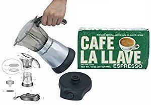 Amazon.com: Electric estilo cubana 3 tazas cafetera ...