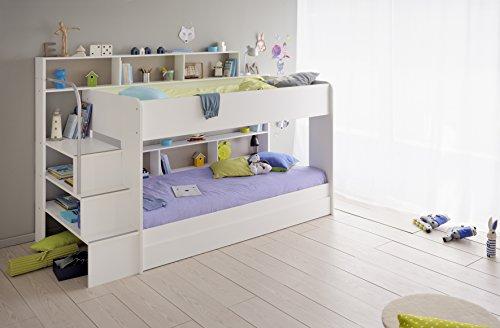 Etagenbett Kinder Treppe : Wählen sie das richtige hochbett mit treppe fürs kinderzimmer