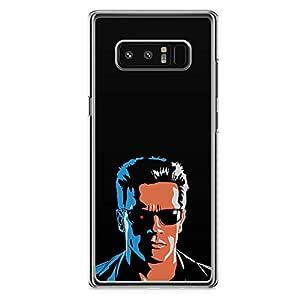 Loud Universe Movie Arnold Terminator Samsung Note 8 Case Retro Movie Samsung Note 8 Cover with Transparent Edges