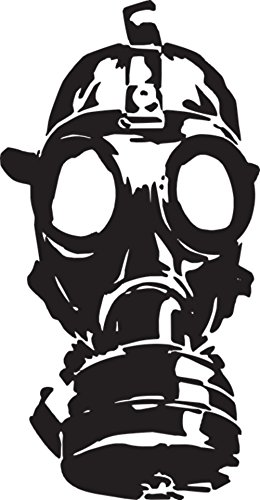 LAMINATED 24x46 inches Poster: Gas Mask War Old Protection Gas Mask Military Protective Safety Toxic Rubber Danger Radiation Respirator Security Pollution Filter Equipment (Respirator Poster Safety)