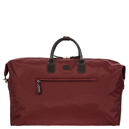 Bric's X Travel Deluxe Weekender Duffel, Bordeaux by Bric's