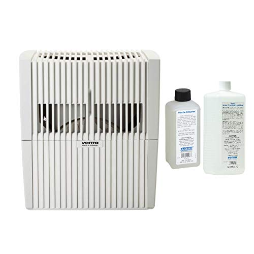(Venta LW25 3 in 1 Airwasher, Air Purifier & Humidifier (White) with Cleaner & Water Treatment Bundle)