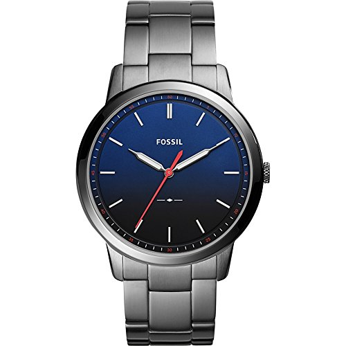 Fossil The Minimalist Slim Three-Hand Stainless Steel Watch