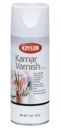 Krylon K01312 11-Ounce Kamar Varnish Aerosol Spray