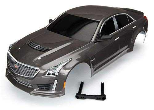 (Traxxas TRA8391X Body, Cadillac CTS-V, Silver (Painted, Decals Applied))