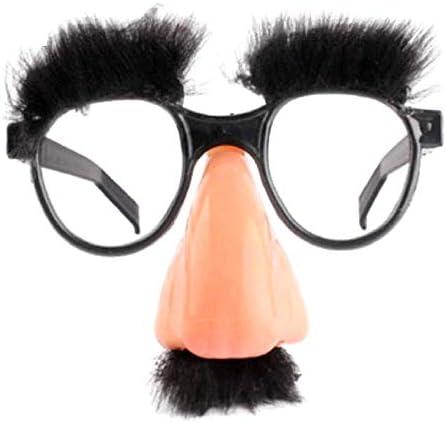Gafas con nariz bigote y ceja falsa para niños – Grupo Marx ...