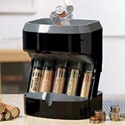 Accuwrapper Motorized Coin Sorter with 100 Bonus Wrappers Included
