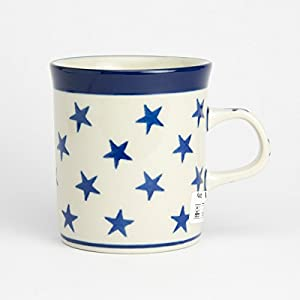 Polish Pottery Mini Mug – Morning Star – 130ml