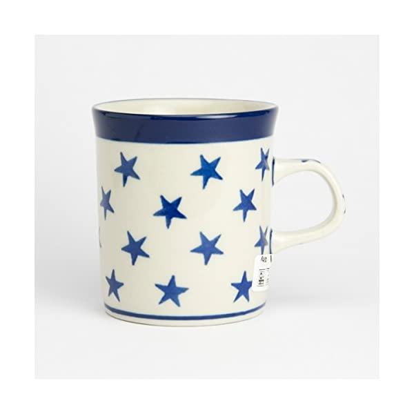 Polish Pottery Mini Mug – Morning Star – 130ml