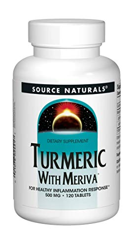 Source Naturals Turmeric with Meriva, Inflammation Reponse Liver Support, 500mg – 120 Tablets