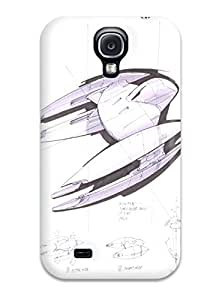 Cute Appearance Cover/tpu VNLJmxk4401wNNQF Star Wars Tv Show Entertainment Case For Galaxy S4