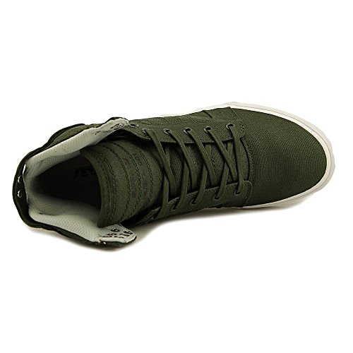 Supra Skytop Medium Sneaker Donkerolijf - Wit