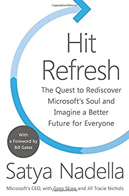 Satya Nadella (Author), Greg Shaw (Author), Jill Tracie Nichols (Author), Bill Gates (Foreword) (22) Release Date: September 26, 2017   Buy new: $29.99$17.99 44 used & newfrom$12.95