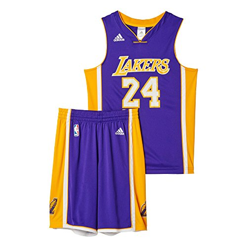 adidas Kinder Trikot Los Angeles Lakers Kit, violett, 152, AC0558