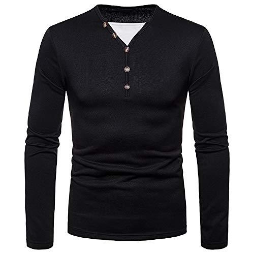 Hommes L'hiver Longues À Des Manches Noir Pour Rayé shirt Pull Fashion Sweat Roiper tWqRwFUF