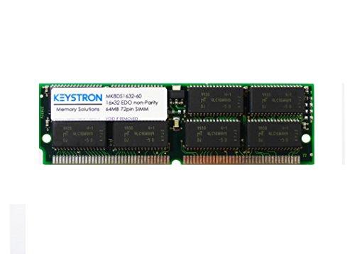 Edo 60ns Simm Memory - 64MB EDO SIMM 60ns 72-pin RAM Memory for E-mu esi-2000 esi-4000 E6400 (Ultra) E5000 (Ultra) E-Synth (keys & Ultra) E-4K (E4K) E4X Turbo