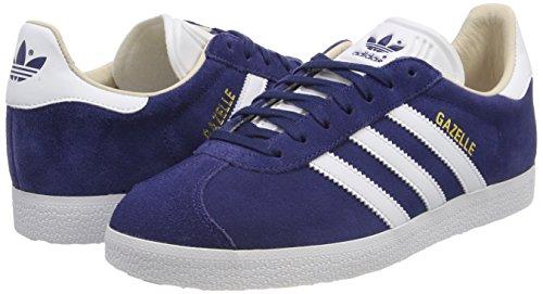 Chaussures ftwbla De Gazelle indnob Bleu 000 W lino Adidas Femme Fitness U8E7xxw