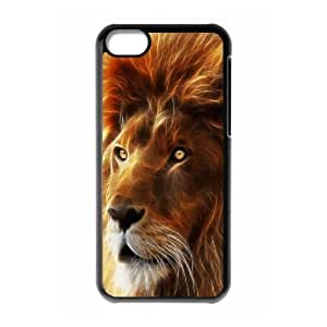 LJF phone case C-Y-F-CASE DIY Design Lion Pattern Phone Case For phone iphone 4/4s