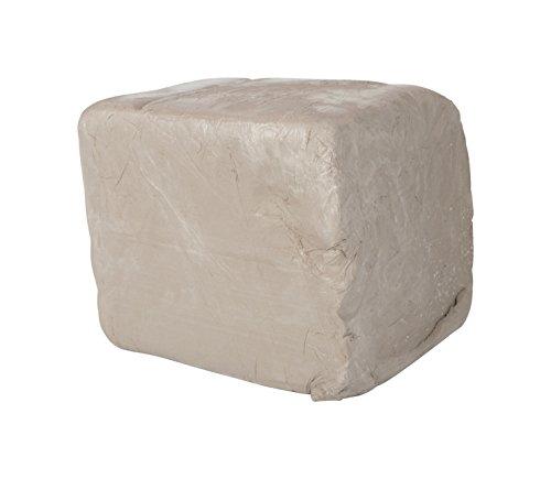 Amaco 45047J High-Fire Moist Stoneware Clay, #38 White