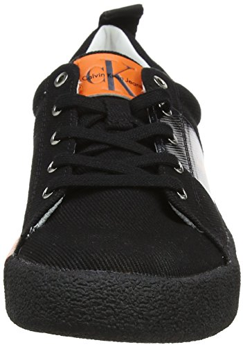 Calvin Klein Jeans Women's Gala Twill Low-Top Sneakers Black (Blk 000) hhO9hCLe