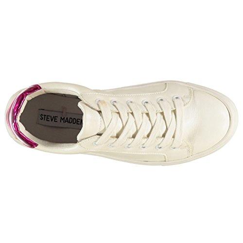 Steve Madden LOVVE Turnschuhe Damen Weiß Casual Fashion Sneakers Schuhe