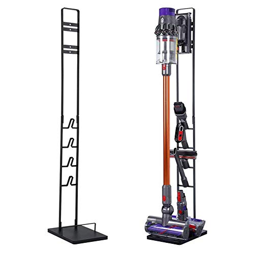 Slsy Accessory Organizer Holders Fit for Dyson V11, V10, V8, V7, V6, DC58, DC59 DC30 DC31 DC34 DC35 DC58 DC62 DC74 Vacuum, Portable Stable Stand, Metal Floor Holder Compatible with Handheld Vacuum