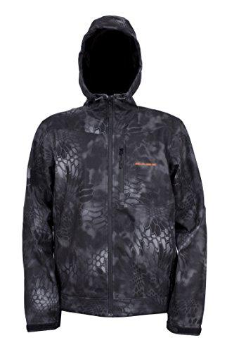 [Grundens Gage Midway Softshell Jacket - Kryptek Typhoon Camo - 2XL] (Snow Motorcycle Jackets)