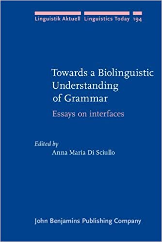 towards a biolinguistic understanding of grammar essays on by  towards a biolinguistic understanding of grammar essays on by anna maria di sciullo