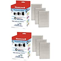 Honeywell Filter R True HEPA Replacement Filter - 2 packs of 3 filters