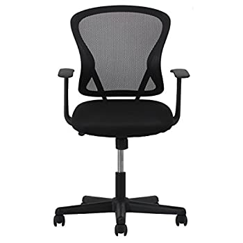 Essentials Swivel Mesh Task Chair With Arms - Ergonomic Computeroffice Chair (Ess-3011) 8