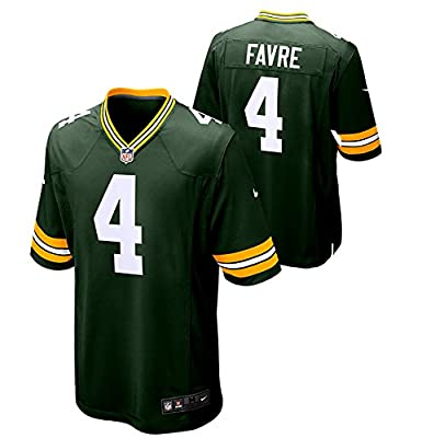 Men's Brett Favre Green Bay Packers Nike Game Day Jersey - Large