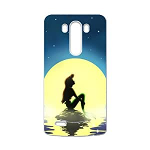 WEIWEI Ariel The Little Mermaid Cell Phone Case for LG G3