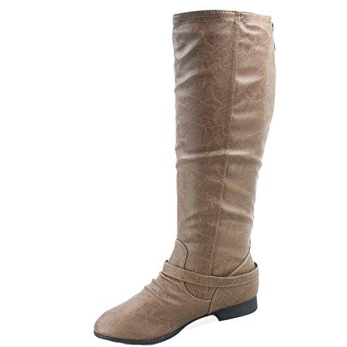 Coco Riding Military Women's 1 Top Boot Conac Moda 5xXn66IqH
