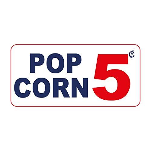 New Great Plastic Sign Pop Corn 5C Custom Office Sign for Outdoor & Indoor 3x8 Inch