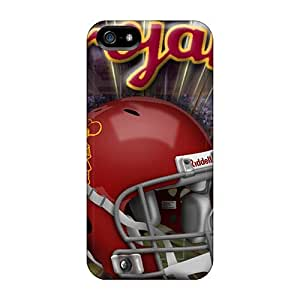 Fashion Protective Usc Trojans Case For Ipod Touch 5 Cover Black Friday