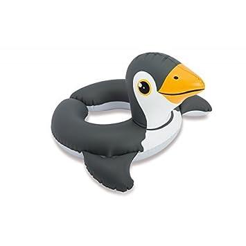 Niños Flotando Neumático Flotador / Neumáticos Flotantes Animales De Zoológico Pingüino: Amazon.es: Juguetes y juegos